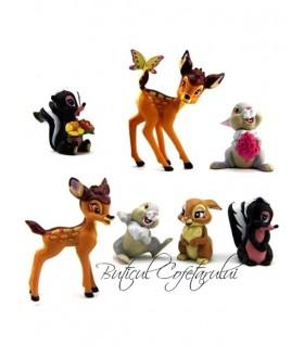 Set 7 figurine Bambi