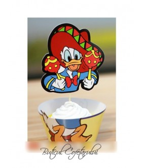 Chese decorative Donald Duck