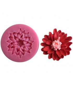 Mulaj silicon floare Crizantema 1