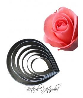 Decupatoare petale trandafir