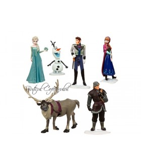Set 6 figurine Frozen