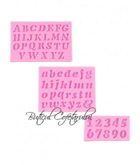 Mulaj silicon litere si cifre